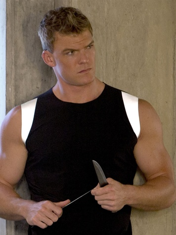 The Hunger Games Catching Fire Alan Ritchson as Gloss November 2013