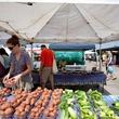 Urban Harvest Farmers Market, produce