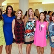 Houston, Ellevate event at Tootsies, August 2015, Kristin Hamilton, Jody Martin, Sharon Ainsworth, Cricket DeWalsh, Margaret Lee Pinkston, Nallely Trujillo-Conley