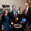 Jennifer and Mark Taylor, from left, and Shelley and Tracy Ludwick at the Houston Tennis Association Gala February 2014