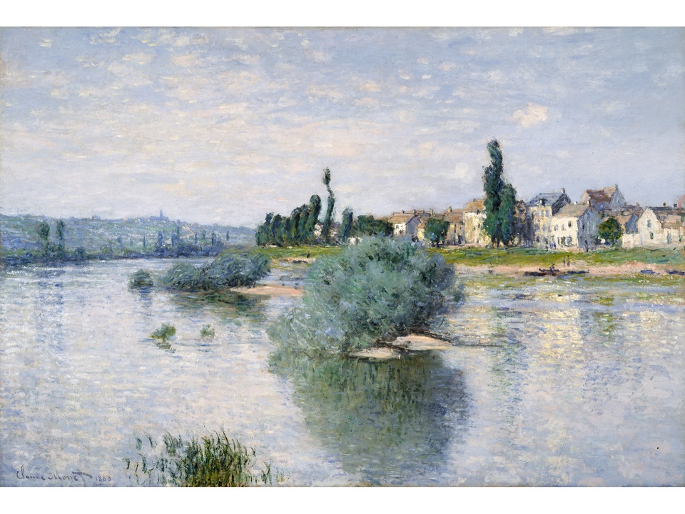 MFAH Monet and the Seine Impressions of a River October 2014 Claude Monet - The Seine at Lavacourt