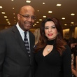 13 Michael Pearson and Parissa Mohajer at the Galveston Mardi Gras gown preview January 2014