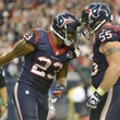 Arian Foster Chris Myers celebrate