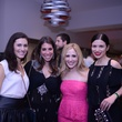 1790 Erin Finger Kaplan, from left, Alexandra Yudelevich, Rachel Abbott and Amy Margolin at the Jewish Federation Young Adult Casino Night February 2014