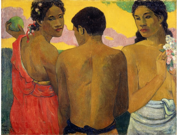 Paul Gauguin, Three Tahitians