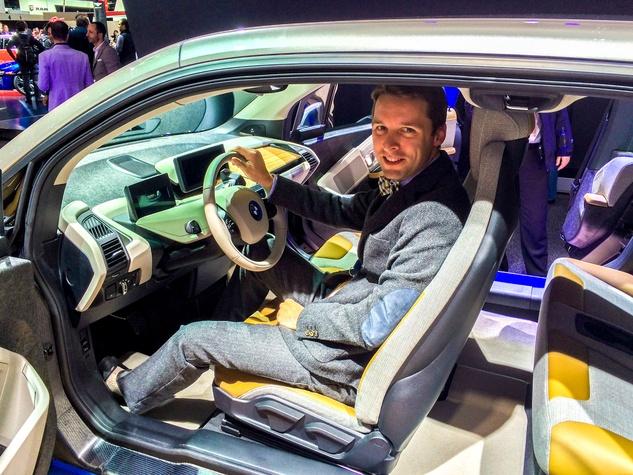 Nic Phillips BMW i3 Electric