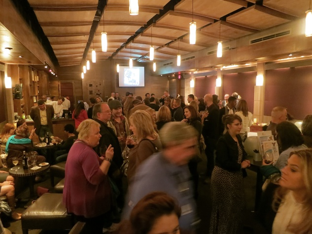 Packed house at the Rescued Pets Movement launch party at Ibiza November 2013