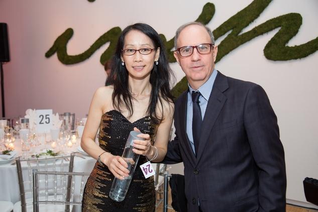 Puiking Hui and Andy Serwe at the Tribeca Ball New York May 2014
