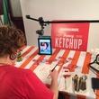Whataburger_Fancy Ketchup anniversary_sketchup portraits_Austin artist_2015