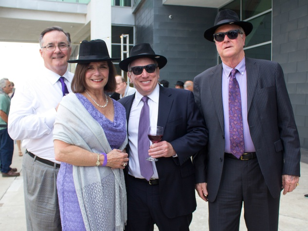 Long Center_Purple Party 7_Allan Williams_Rose Betty Williams_Mitch Vernick_Dan Matheison_2015