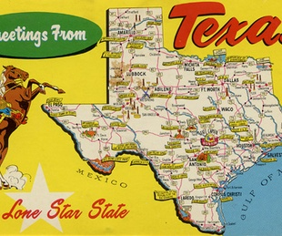 News_Texas map_postcard