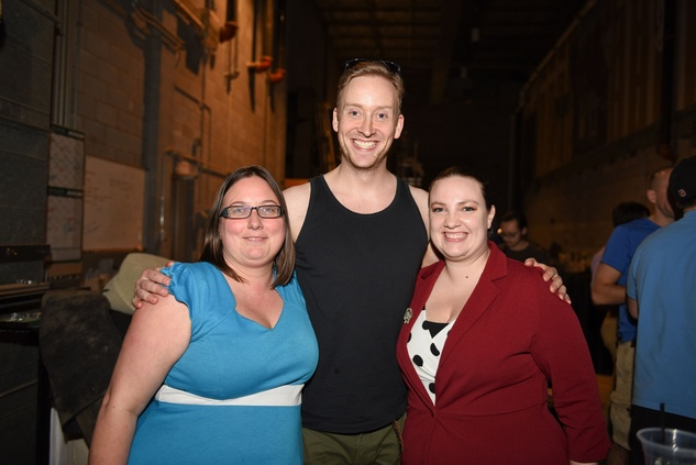 Houston, News, Shelby, Alley Theatre Scene Event, May 2015, Susan Derrick, Gareth Charlton, Leslie Kendall
