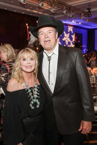 Brenda Love and Ed Jones at the Citizens for Animal Protection Gala November 2014