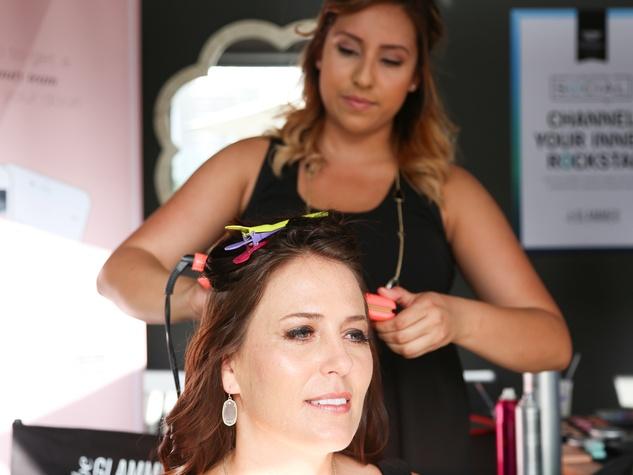 CultureMap Social The W Hotel Wet Deck beGlammed Rock Star Beauty Bar Hair