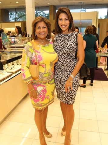 Monica McNeill, left, and Rachel McNeill at Neiman Marcus' Stiletto Strut