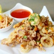 Fried calamari at Dive Coastal Cuisine in Dallas
