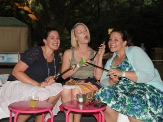 News_Houston Zoo_Dinosaur Disco_May 2012_Lauren Gray_Kristina Yelton_Caroline Hendryx