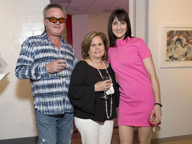 Glassell Benefit and Auction 2015 Bernie and Mary Arocha; Emily Church