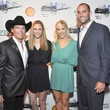 106, Clay Walker party, October 2012, Clay Walker, Jessica Walker, Laurie Schaub, Matt Schaub