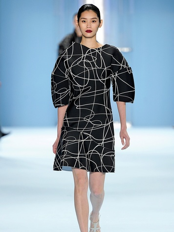 Clifford New York Fashion Week fall 2015 Carolina Herrera Top Look_11