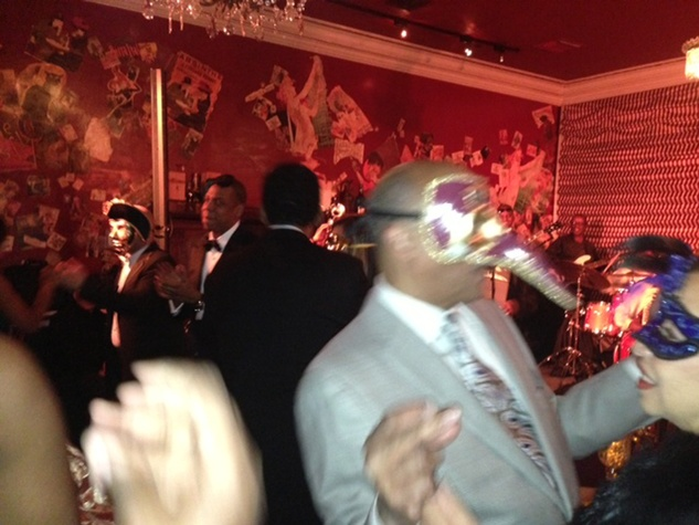 Tina Knowles 60th birthday party in New Orleans January 2014 Jay