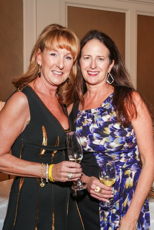 Shelley Reeves, left, and Stephanie Baird at Best Cellars September 2014