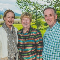 Louis and Lucia Brandt, from left, and Leslie and Jack Blanton at UST in Colorado June 2014
