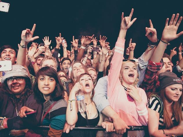 Fun Fun Fun Fest 2014 Day 3 Wiz Khalifa Crowd