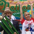 Nathan's Famous Hot Dog Eating Contest 2017 Miki Sudo female winner