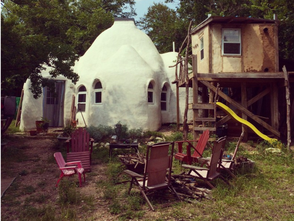 Earthbag House Weird Homes Tour