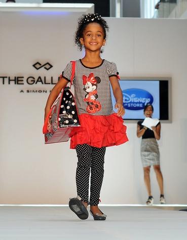 News, Shelby, MD Anderson Children's Fashions, August, 2014, Kesena Orette wearing Disney