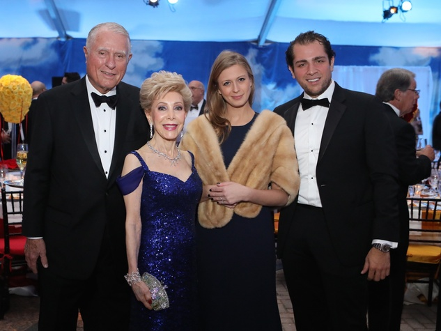 Jim Daniel, Margaret Alkek Williams, Princess Tatiana Galitzine, Guillermo Sierra at Houston Grand Opera opening night