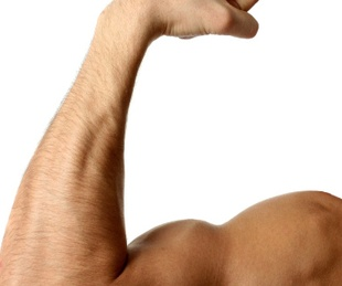 Houston, workout fitness, July 2017, flex biceps