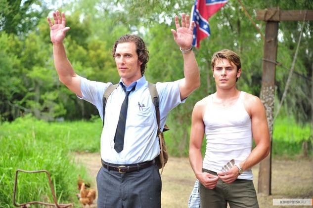 Matthew McConaughey, Zac Efron, The Paperboy