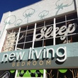 New Living Bedroom new storefront sign
