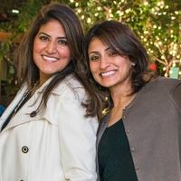 25 Vikram and Karishma Asrani, from left, Michelle Nainani and Chandni Sharma at the CultureMap Social at Gateway November 2014