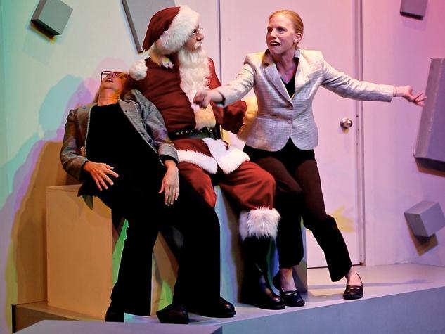 Stark Naked Theatre Ho HO Humbug
