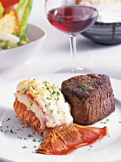Places-Food-Fleming's-River Oaks-lobster-steak