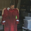 The Great Invisible Doug Brown, chief mechanic on the Deepwater Horizon, shows the uniform he was wearing the day of the explosion