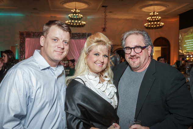 Houston, Social Book 2016 Launch Party, January 2016, Leonard Ledford, Michelle Maresh, Thom Anderson