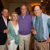 Houston, St. Luke's Foundation Summer Speaker Series Aspen, August 2015, Jimmy Erwin, Pam Erwin, Charlie Herder, Johnny Duncan