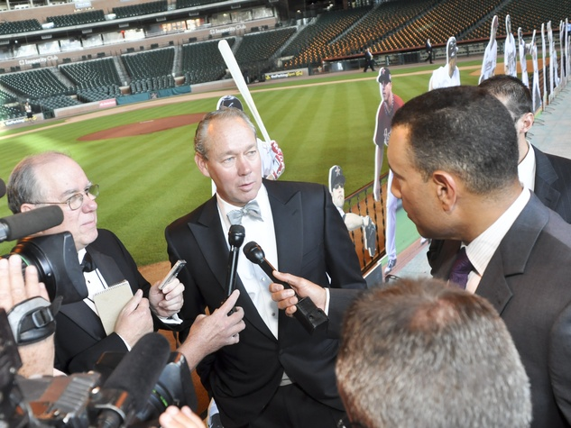 Astro Wives,Jim Crane, August 2012