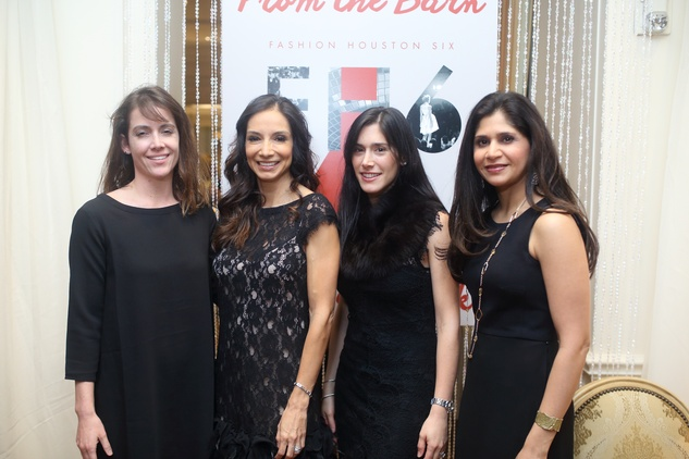 1412 Meredith Davis, from left, Lesley Marquez, Camila Barnes and Nashat Latib at the Sire Under the Stars event March 2015