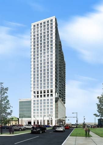 3400 Montrose Hanover high rise apartment tower