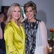 Janet Fresquez and Dawn Mellon, light the runway kickoff event