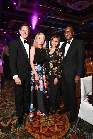 Memorial Hermann Gala 5/16 Bill Campbell, Diane Campbell, Barbara Easter, Bill Easter