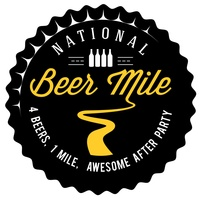 National Beer Mile Logo
