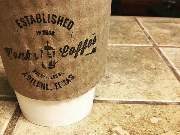 Monks Coffee Shop in Abilene, Texas