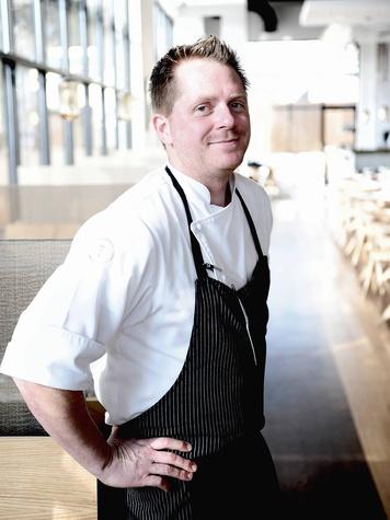 chef Ryan Hildebrand in Triniti