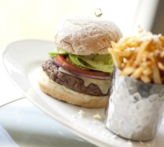 The RDG Burger, at RDG + Bar Annie